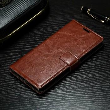 Глянцевый чехол портмоне подставка на силиконовой основе на магнитной защелке для Sony Xperia XA