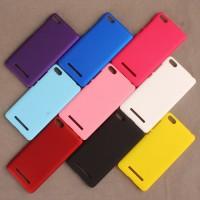 Пластиковый непрозрачный матовый чехол для Xiaomi Mi4i