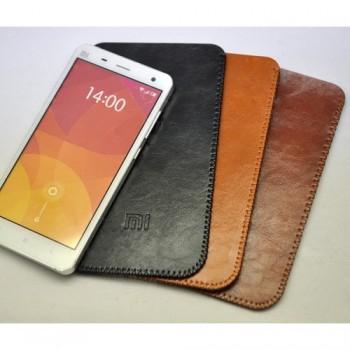 Кожаный вощеный мешок для Xiaomi Mi4i