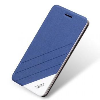 Чехол горизонтальная книжка подставка текстура Линии на силиконовой основе для Xiaomi Mi4i