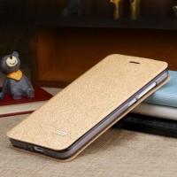 Чехол горизонтальная книжка подставка текстура Соты на силиконовой основе для Xiaomi Mi4i