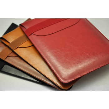 Кожаный вощеный мешок для Ipad Pro
