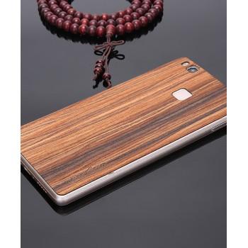 Экстратонкая клеевая натуральная деревянная накладка для Huawei P9 Lite