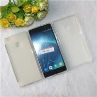 Силиконовый матовый полупрозрачный чехол для Huawei P9 Lite  Белый