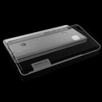 Силиконовый матовый полупрозрачный чехол с улучшенной защитой элементов корпуса (заглушки) для Huawei P9 Lite  Черный