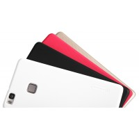 Пластиковый непрозрачный матовый нескользящий премиум чехол для Huawei P9 Lite