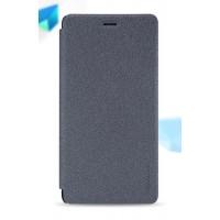 Чехол горизонтальная книжка на пластиковой нескользящей премиум основе для Huawei P9 Lite  Черный