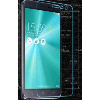Ультратонкое износоустойчивое сколостойкое олеофобное защитное стекло-пленка для Asus ZenFone 3 5.5
