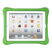 Ударостойкий детский силиконовый матовый гиппоаллергенный непрозрачный чехол для Samsung GALAXY Tab 4 8.0