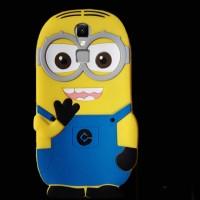 Силиконовый матовый непрозрачный дизайнерский фигурный чехол для Elephone S3