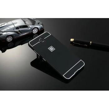 Двухкомпонентный чехол c металлическим бампером с поликарбонатной накладкой для Microsoft Lumia 650