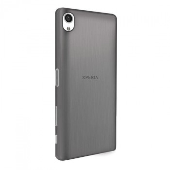 Силиконовый матовый полупрозрачный ультратонкий премиум чехол для Sony Xperia X Performance