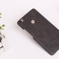 Чехол накладка текстурная отделка Кожа для Xiaomi Mi Max Черный