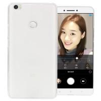 Силиконовый матовый полупрозрачный чехол для Xiaomi Mi Max  Белый