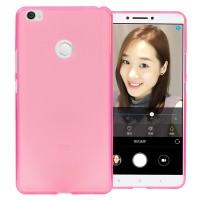Силиконовый матовый полупрозрачный чехол для Xiaomi Mi Max  Розовый