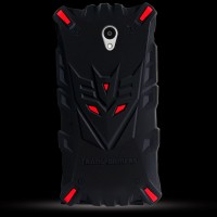 Силиконовый матовый непрозрачный дизайнерский фигурный чехол для ZTE Blade A510