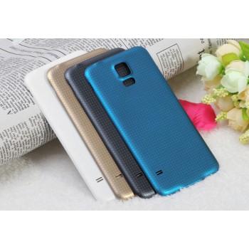 Пластиковый непрозрачный матовый встраиваемый чехол для Samsung Galaxy S5 (Duos)