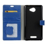 Чехол портмоне подставка на силиконовой основе на магнитной защелке для Alcatel Pop 4S