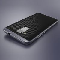 Противоударный двухкомпонентный силиконовый матовый непрозрачный чехол с поликарбонатными вставками экстрим защиты для Huawei Honor 5C  Серый