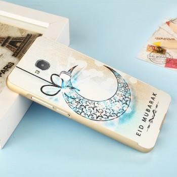Двухкомпонентный чехол c металлическим бампером с поликарбонатной накладкой и УФ-принтом для Huawei Honor 5C