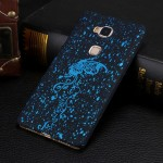 Пластиковый непрозрачный матовый чехол с голографическим принтом Звезды для Huawei Honor 5C
