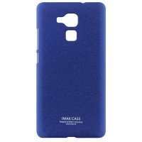 Пластиковый непрозрачный матовый чехол с повышенной шероховатостью для Huawei Honor 5C  Синий