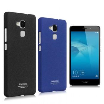 Пластиковый непрозрачный матовый чехол с повышенной шероховатостью для Huawei Honor 5C