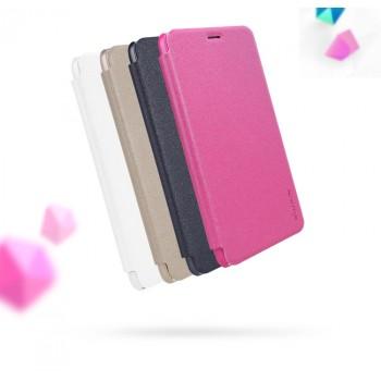 Чехол горизонтальная книжка на пластиковой нескользящей премиум основе для Huawei Honor 5C