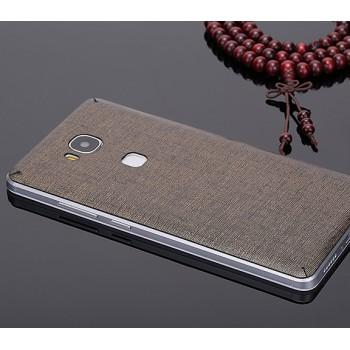 Экстратонкая клеевая кожаная накладка для Huawei Honor 5C