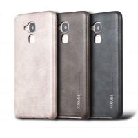 Чехол накладка текстурная отделка Кожа для Huawei Honor 5C