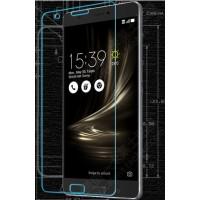 Ультратонкое износоустойчивое сколостойкое олеофобное защитное стекло-пленка для Asus ZenFone 3 Ultra
