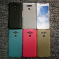 Силиконовый матовый полупрозрачный чехол для Elephone P9000