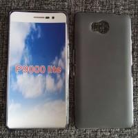 Силиконовый матовый полупрозрачный чехол для Elephone P9000 Lite  Черный