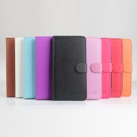 Чехол портмоне подставка на клеевой основе на магнитной защелке для Elephone P9000 Lite