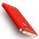 Пластиковый непрозрачный матовый сборный чехол с улучшенной защитой элементов корпуса для LeEco Le 2