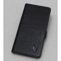Кожаный чехол горизонтальная книжка (премиум нат. кожа) с крепежной застежкой для LeEco Le 2