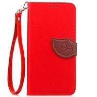 Чехол портмоне подставка на силиконовой основе на дизайнерской магнитной защелке для Meizu M2 Note  Красный