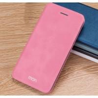 Винтажный чехол горизонтальная книжка подставка на силиконовой основе для Xiaomi RedMi 3 Pro/3S Розовый