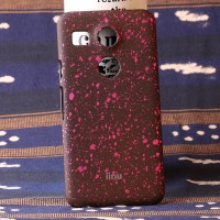 Пластиковый непрозрачный матовый чехол с голографическим принтом Звезды для Google LG Nexus 5X