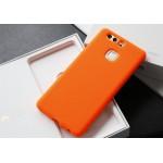 Силиконовый матовый непрозрачный софт-тач премиум чехол для Huawei P9 Plus