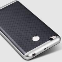 Двухкомпонентный силиконовый матовый непрозрачный чехол с поликарбонатным бампером для Xiaomi RedMi 3 Pro/3S