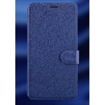 Текстурный чехол горизонтальная книжка подставка на пластиковой основе с отсеком для карт на магнитной защелке для LG Leon