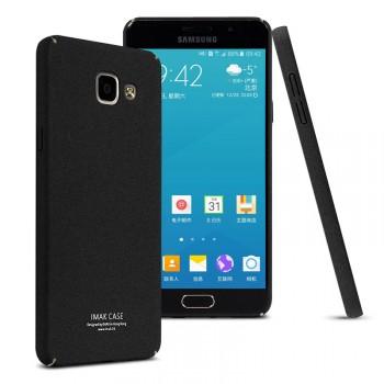Пластиковый непрозрачный матовый чехол с повышенной шероховатостью для Samsung Galaxy A5 (2016)