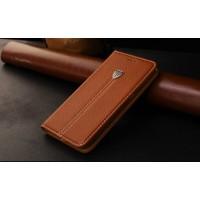 Кожаный чехол горизонтальная книжка подставка с отделкой Полосы на силиконовой основе с отсеком для карт для Samsung Galaxy A5 (2016)
