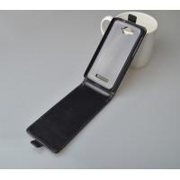 Чехол вертикальная книжка на пластиковой основе на магнитной защелке для Alcatel One Touch Pop C7