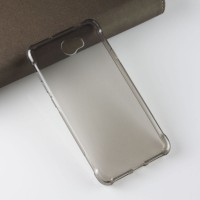 Силиконовый матовый полупрозрачный чехол с усиленными углами для Huawei Honor 5A/Y5 II