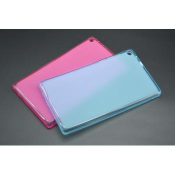 Силиконовый матовый полупрозрачный чехол для Lenovo Tab 2 A7-20