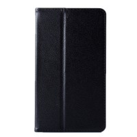 Чехол книжка подставка с рамочной защитой экрана для Lenovo Tab 2 A7-20  Черный