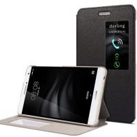 Чехол книжка подставка на непрозрачной поликарбонатной основе для Huawei MediaPad T2 7.0 Pro  Черный