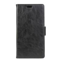 Чехол портмоне подставка на силиконовой основе на магнитной защелке для HTC Desire 830 Черный